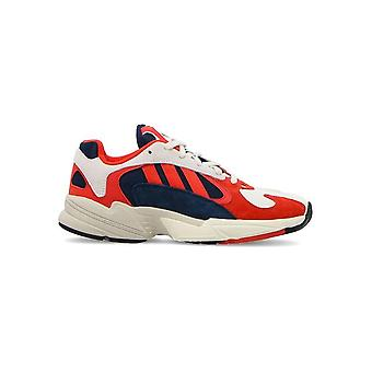 Adidas - Shoes - Sneakers - B37615_YUNG-1 - Men - red,white - UK 7.5