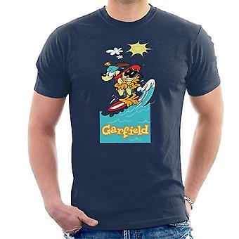 Garfield surfen groep mannen ' s T-shirt