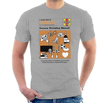 Haynes How To Relax Manual Men's T-Shirt