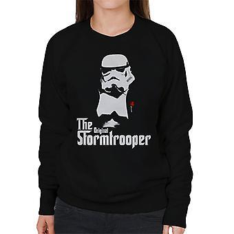 Original Stormtrooper Mafia Film Parody Women's Sweatshirt
