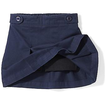 Essentials Little Girls' Uniform Skort, Navy Blazer, S (6/7)