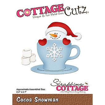 La démolition Cottage Cocoa Snowman