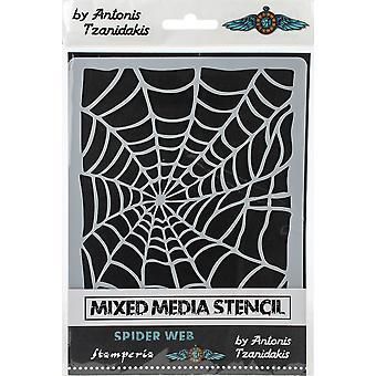 Paksu kaavain 15x20cm hämähäkinseitti (KSAT01)