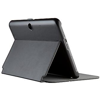Verizon Folio Case, Screen Protector, Stylus Bundle for Ellipsis 10 - Black
