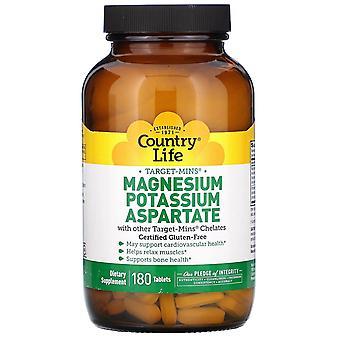 Landleben, Target-Mins Magnesium Kalium Aspartat, 180 Tabletten