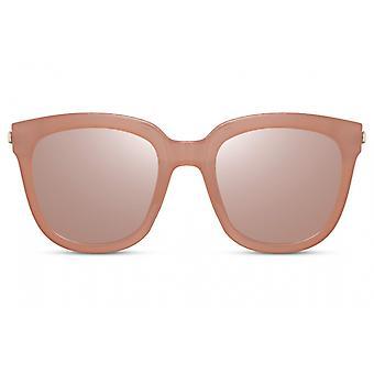 النظارات الشمسية المرأة بانتو كامل حافة كات. 3 وردي / وردي