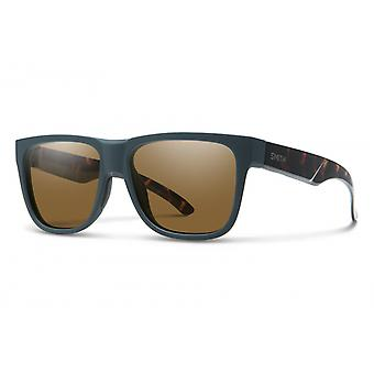 Sonnenbrille Unisex Lowdown 2    dunkelgrün havanna / braun