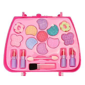 Kids Make Up Toy Set Princess Pretend Play Makeup Beauty Safety Kit Toys For Kid Girls- Dressing Cosmetic Gifts (violet)