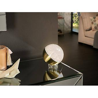 Schuller Sphere - Integrated LED Table Lamp Brass