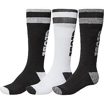 Globe stoningtone long sock pk 3