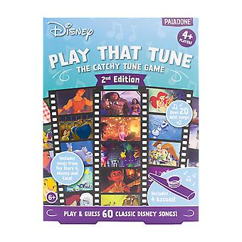 Disney Play That Tune 2nd Edition Licensed Disney Musical Family Party Game