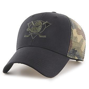 47 Brand Trucker Cap - SWITCH MVP Anaheim Ducks wood camo