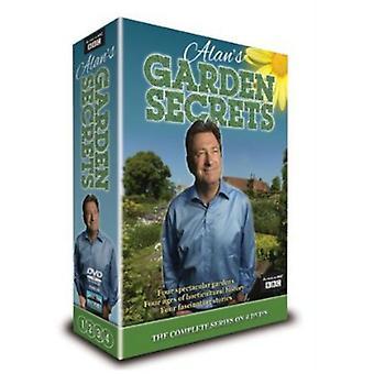 Alans Trädgård Secrets (Alan Titchmarsh) [DVD] USA import