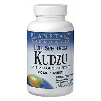 Planetary Herbals Full Spectrum Kudzu, 120 Tabs