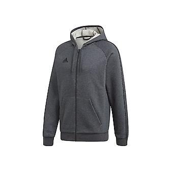 Adidas Core 18 FZ Hoodie FT8070 football all year men sweatshirts