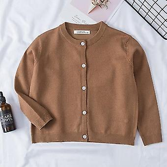 Girl Cartoon Print Sweaters Long Sleeve Autumn Children Clothes For Boy Girl Set-1