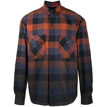 Kenzo Fa65ch5001lj88 Men''s Multicolor Cotton Shirt