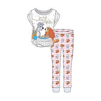 Women's Disney Lady ja The Tramp Pyjama Set