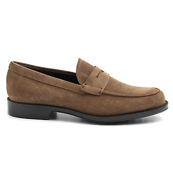 Moccassus Tod-apos;s Light Brown Suede Man
