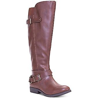 Stil & Co. Womens Mayy mandelförmige Spitze Knie hohe Stiefel Mode