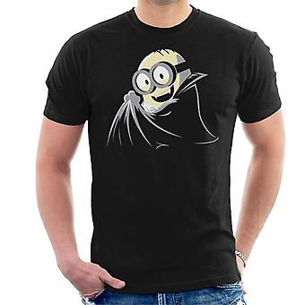 Despicable Me Dave The Minion Dressed As A Vampire Men's T-Shirt