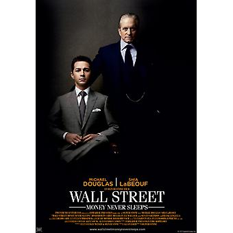 ウォールストリートのお金は決して眠らない映画ポスター印刷 (27 × 40)