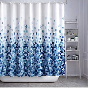 High-end Thick Waterproof Toilet Printing Waterproof Shower Curtain Hotel Polyester Shower Curtain