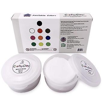 White Air Dry Art Clay