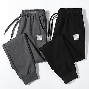 Cotton New Sweatpants Men's Streetwear Pants Fashion Pencil Linen