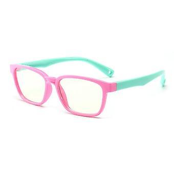Lasten neliön tietokone silmälasit kirkas linssi optinen lasit