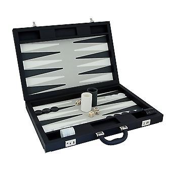 Dal Negro Luxury Backgammon tapauksessa musta