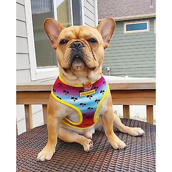 Frenchiestore Reversible Dog Health Harness | California Dreamin'
