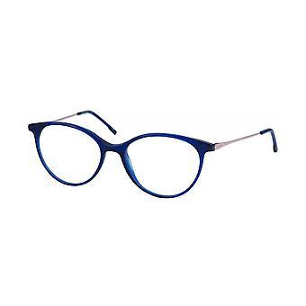 Moleskine MO1137 50 Crystal Blue And Rose Gold Optical Glasses