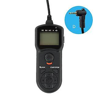 Jjc tm-d multi-funktion timer fjernbetjening til Panasonic lumix / leica kameraer-erstatter Panasonic