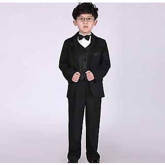 Klasická elegantní móda Nádherná výšivka Lovely's Wedding Suit