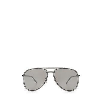 Saint Laurent CLASSIC 11 MASK schwarz unisex Sonnenbrille