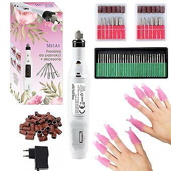 Nagel manicure - nagelfrees - 117-delig - nagelvijl