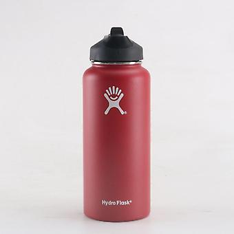 Vacuum Insulated Flask Stainless Steel Water Bottle, Wide Mouth, Outdoors