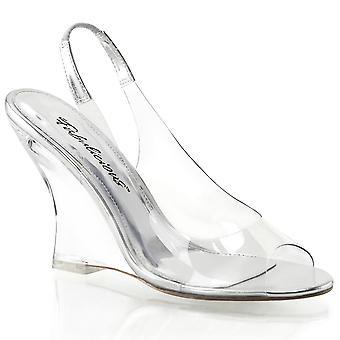 Fabulicious Frauen's Schuhe LOVELY-450 Clr-Slv/Clr