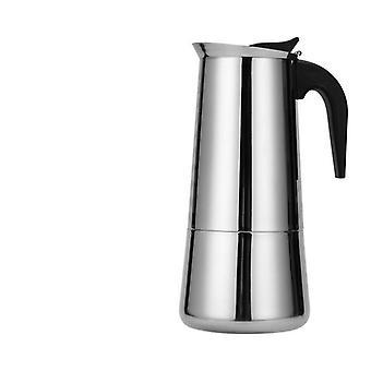 Portable Espresso Moka Coffee Maker Pot Stainless Steel Coffee Brewer Kettle