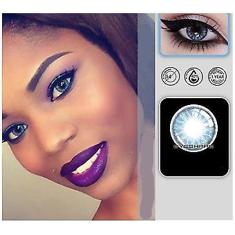 Skleněné kuličkové kontaktní čočky Eye Cosmetic Color