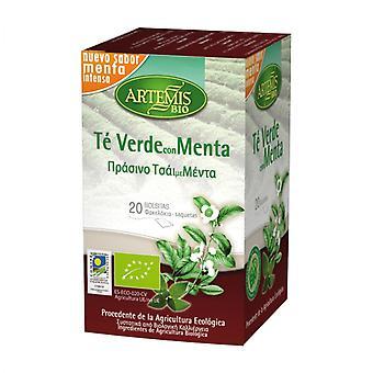 Herbes del Molí Green Tea with Mint 20 Units