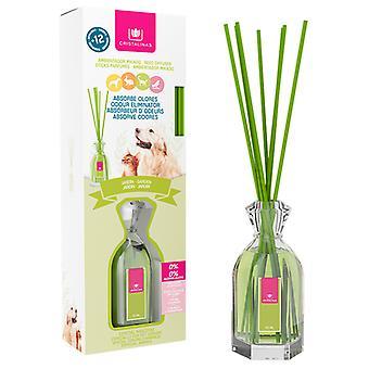 Cristalinas Mikado absorbs pet odours Crystalline garden 90 ml