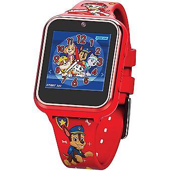 Disney Paw4275 Plastic Case Silicon Strap Unisex Watch For Children