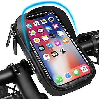 FengChun Fahrradlenkertasche | Handyhalterung für Fahrrad Motorrad | Wasserdicht Handyhalter