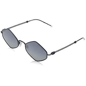 راي بان 0EA2085 النظارات الشمسية، أسود (ماتي الأزرق)، 52 رجلا