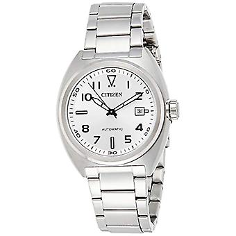 Citizen Analogueic Watch Automatic Men's Watch with Stainless Steel Strap NJ0100-89A
