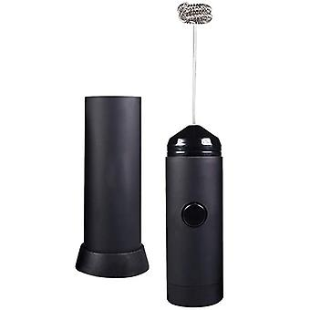 Mini Handheld Milk Frother - Battery Operated, Electric Foam Maker   Includes