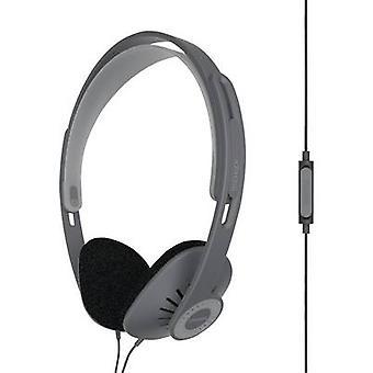 KOSS KPH30iK Hi-Fi On-ear headphones On-ear Headset, Volume control Black