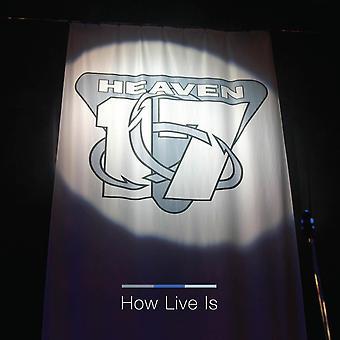 Heaven 17 - Cómo live es clear vinyl